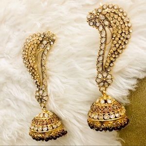 Jewelry - Indian Bollywood Statement Earrings